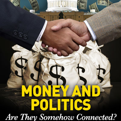 Money in Politics Photo by www.theprogressivesinfluence.com