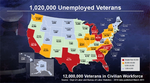 Unemployed Veterans by www hiringourheroes org